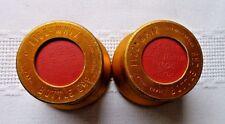 Vintage Fizz Whiz Bottle Caps Covers Collectible Set of 2