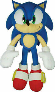 Sonic the Hedgehog plush 10 inch Ships fast from USA Children's toy
