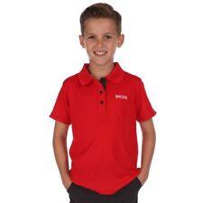 Magliette, maglie e camicie rosso nessuna fantasia per bambini dai 2 ai 16 anni