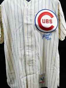 Ferguson Fergie Jenkins Chicago Cubs Signed Replica Jersey JSA Authenticated