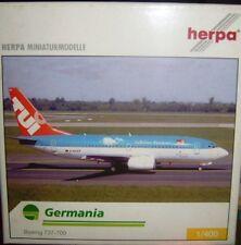BOEING 737-700 GERMANIA   scala 1/400 HERPA (560627)