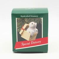 Hallmark Keepsake Vintage 1989 Special Delivery Christmas Ornament Seal