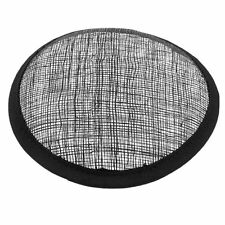 Round Sinamay Hat Fascinator Hat Base Headpieces Base Millinery Making Craft