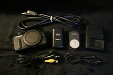 Canon EOS M 18MP Mirrorless Digital Camera Body Bundle w Extras NICE