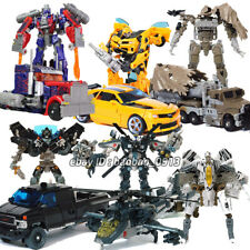 HZX H-series Optimus Prime OP Bumblebee Voyager 7in Action Figure Child Kids Toy