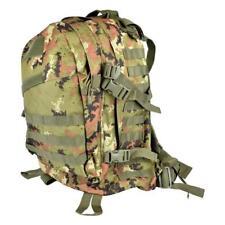 Zaino tattico militare 45 Litri con sistema molle Vegetato Italiano Softair E.I.