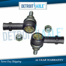 Set of (2) Brand New Front Outer Tie Rod End Links for Mercedes-Benz