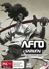 *NEW & SEALED* Afro Samurai - The Complete Murder Sessions (Blu-ray, 2-Disc Set)