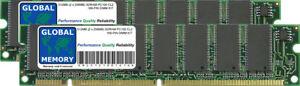 512MB (2 X 256MB) Sdram PC100 100MHz 168-PIN Mémoire Dimm RAM Kit Pour