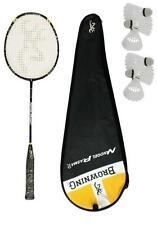 Browning Nanogel Plasma 70 Badminton Racket + 6 Carlton Shuttles RRP £310