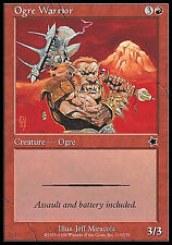Ogre Warrior X4 EX/NM Starter 1999 MTG Magic Cards Red Common
