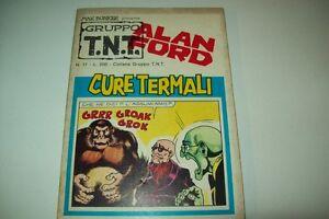 GRUPPO TNT-ALAN FORD-MAGNUS&BUNKER-NUMERO 17-CURE TERMALI-EDITORIALE CORNO