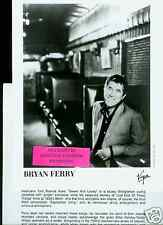 bryan ferry limited edition press kit roxy music
