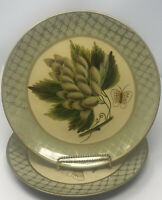 """Raymond Waites Designed for TOYO 10"""" Decorative Display Plate Fruit Butterfly"""