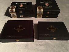 LOT OF 6 ALEC BRADLEY PRENSADO Various CIGAR BOXES BOX EMPTY CRAFTS JEWELRY