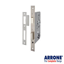 Arrone Hoppe 72 mm Euro Profile Sashlock Sash Lock 55 mm Backset en acier inoxydable
