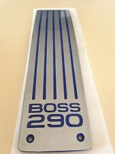 FORD BA/BF FPV BOSS 290 PLENUM BADGE PLATE GT/GTP/SUPER PURSUIT