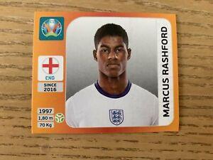 Panini Euro 2020 Tournament Edition Orange sticker Marcus Rashford #419 England