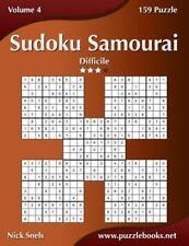 Sudoku Samurai: Sudoku Samurai - Difficile - Volume 4 - 159 Puzzle by Nick...