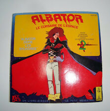Albator - Livre-disque 45T- Albator défie les Sylvidres - Disque Ades