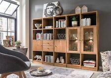 Bücherregale mit Beleuchtung fürs Wohnzimmer