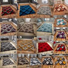 Acrylic Rectangle Geometric Rugs