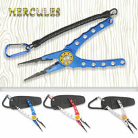 Hercules Fishing Pliers H2 Aluminum Tackle Tools Accessories Split Ring Cutters