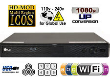 NEW LG BP350 ALL REGION CODE FREE BLU-RAY DVD PLAYER - ZONE A,B,C & DVD: 0-9