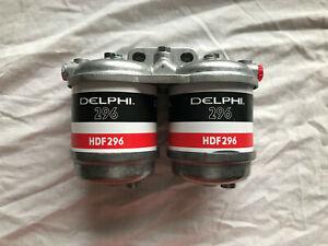 cav delphi Filter Kit Double diesel Fuel Filterwater traps  takes the cav296