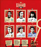 PANINI WORLD CUP RUSSIA 2018 GOLD 12 FIGURINE complete set COCA COLA