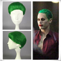 Batman DC Comic Suicide Squad Harley Quinn Jared Leto Joker Cosplay Wig natural