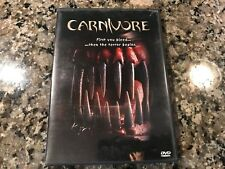 Carnivore Dvd! 2000 Teen Horror! (See) The Faculty Scream 2 & The Craft