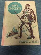 Antique Davy Crockett By Frank Beals American Adventure Series 1941