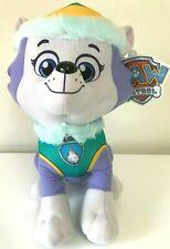 New XLarge 14'' Paw Patrol EVEREST Stuffed Animal Toy.USA.Licensed Plush. LARGE