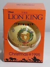 Disney The Lion King Christmas Tree Ornament 1995 Schmid