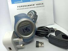 Reloj Deportivo Garmin Forerunner 405CX Gps Atlético Running multiactividad Azul