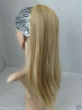Perruques, extensions et matériel queues de cheval blonds sans marque pour femme