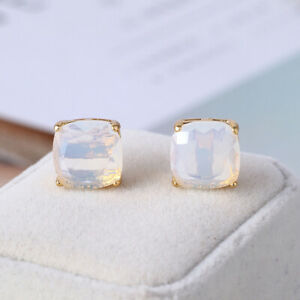 Kate Spade New York Small Square Stud Earrings With Dust Bag