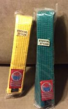 Two Awma Taekuando Belts Sold Together.