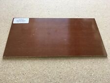 "MICARTA: Brown Canvas 1/8"" 6 x 12"" Sheet for Wood Working, Knife Making, Bush"