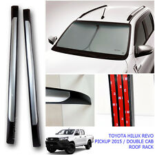 Fit 15+ Toyota Hilux Revo Silver Line Roof Ornament Cover Sr 4Door Roof Rack M70