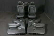 Audi q5 8r Leather seats interior Black Right Hand Drive cars RHD asientos de piel