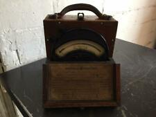 Authentic Vintage Antique General Electric Ge Dc Millivolt Meter, Type Dp2