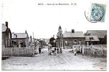 (S-100477) FRANCE - 02 - MOY DE L AISNE CPA      DAUTANCOURT L. ed.