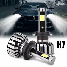 2x H7 80W 8000LM Bombilla LED COB Headlight Conversion Kit Luz 6000K High Power