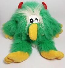 Hansa X Gumbush Australia   TROLL/MUPPET/YOWIE Furry Green Plush Toy  *Retired*