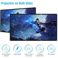 2020 MAGIC!!! Portable Projector 16:9 HD Projection Screen Tripod Pull-up Matte