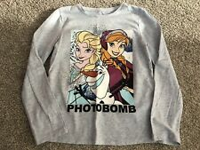 Girls Disney Frozen Top 7-8 Years