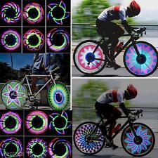 Outdoor MTB Bicycle Bike Cycling Tyre Tire Wheel Valve 32 LED Spoke Light Lamp