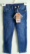 NWT $38 Levis Girls Skinny Knit Jeans SIZE 6 Indigo Blue Wash #336 Pants 346215